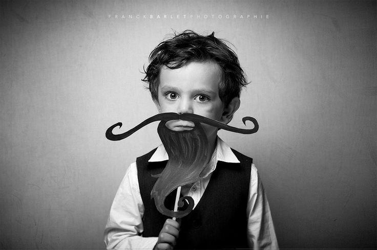 Barbu - Quand je serai grans j'aurais une barbe et une moustache.