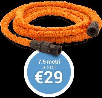 Acquista online Strech Hose: acquista subito online il nuovo tubo da giardino allungabile | Strech Hose