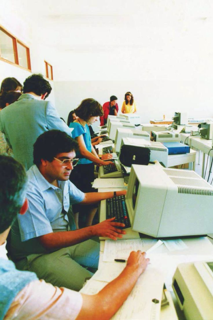 Computers have gotten smaller but our company has only grown larger.  #thenavigatorcompany #navigatorhistory #innovation #paper #company #team #history