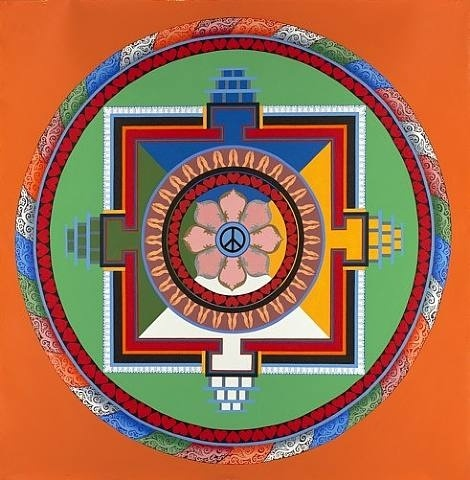 Mandala of Harmony by Tenzing Rigdol