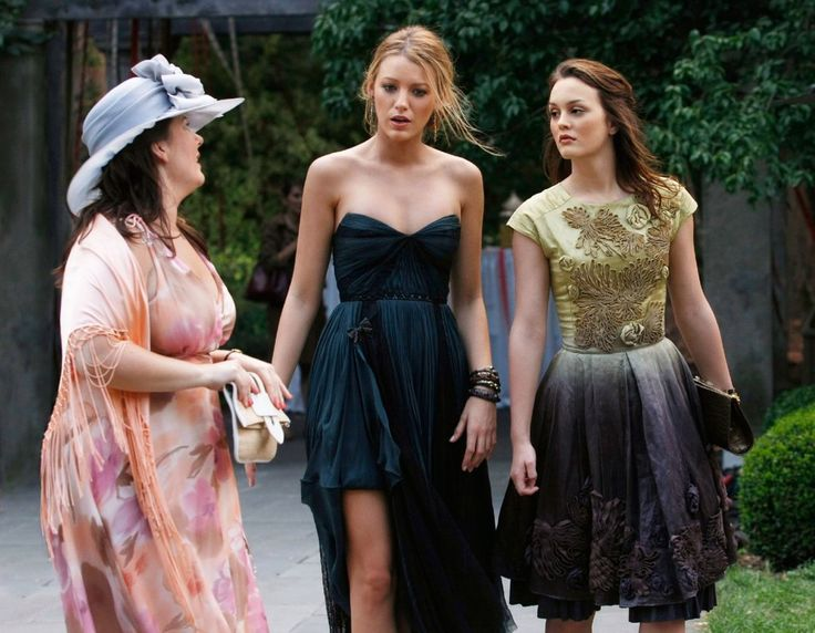 White party gossip girl serena dress opera