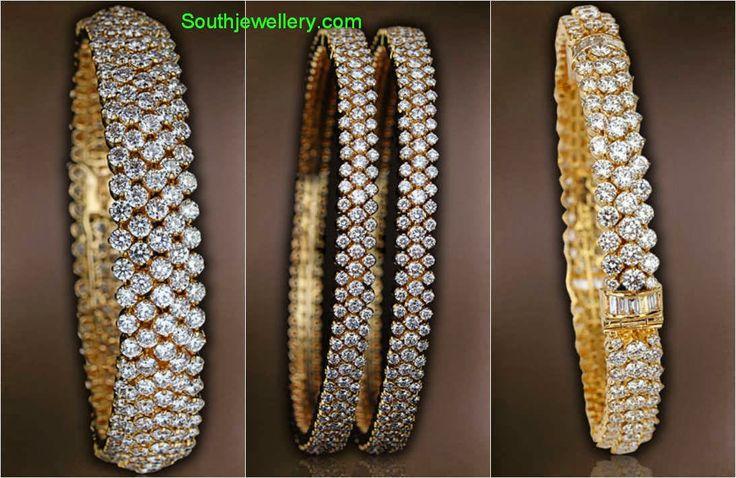 diamond bangles collection