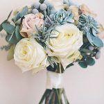 Tendenze bouquet da sposa inverno 2017 in grigio e argento | Sposalicious