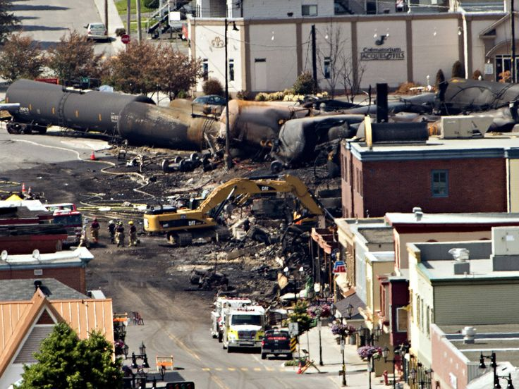 July 6 – A train carrying American crude oil derailed and exploded in the heart of Lac-Mégantic, Quebec, killing 47 people
