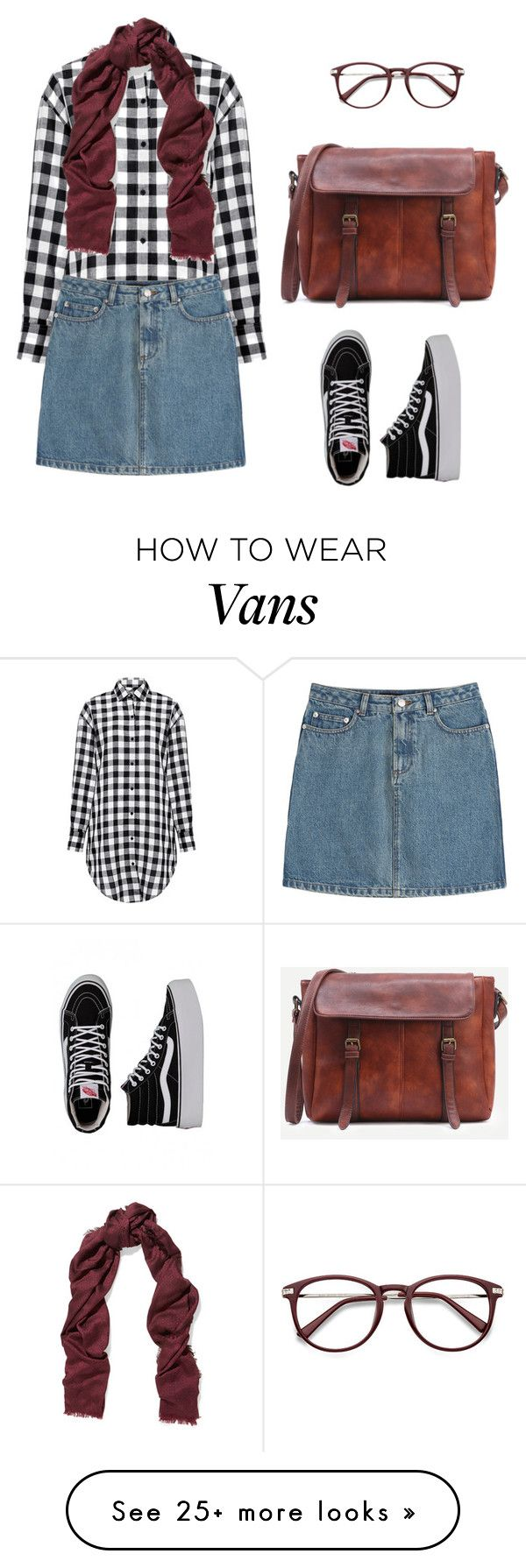"""Untitled #672"" by ichanee on Polyvore featuring IRO, Vans, A.P.C. and Tory Burch"