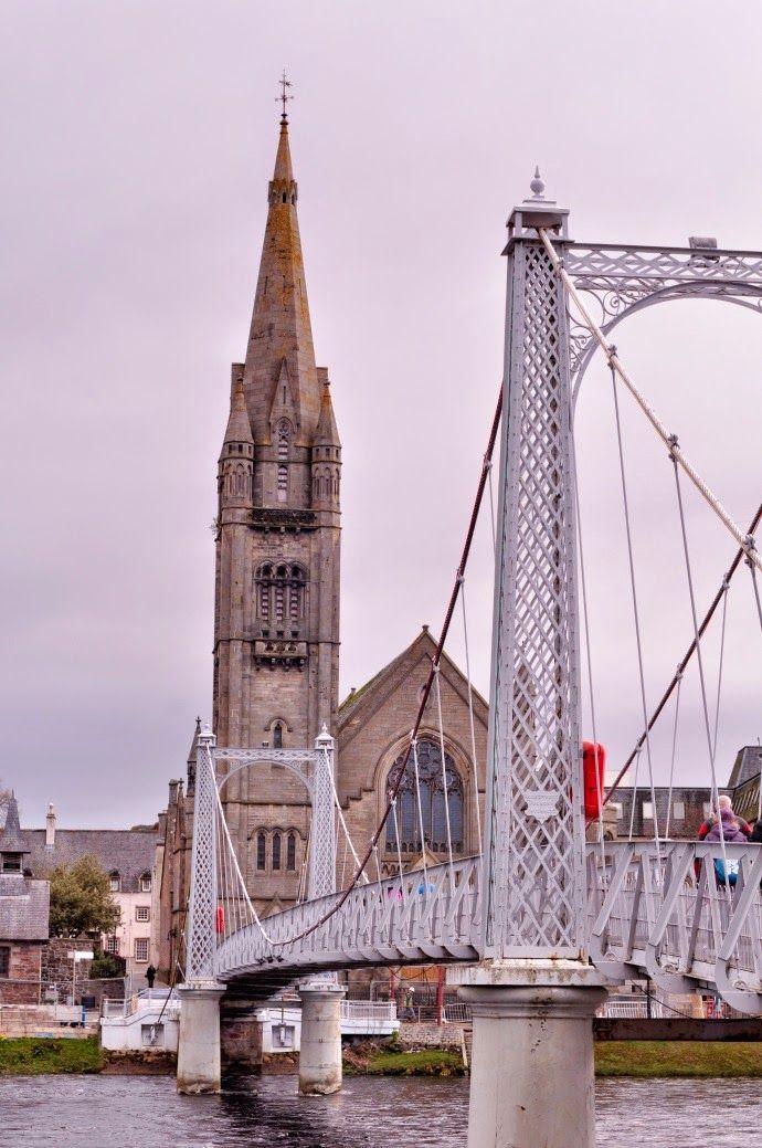 Conhecendo a Escócia - Inverness