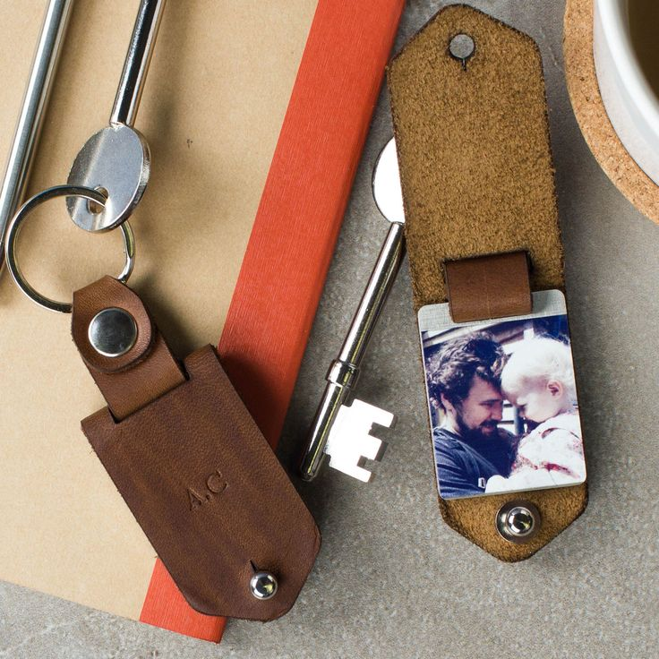 Metal Photo Keyring With Leather Case | Create Gift Love £26 This stunning, photo keyring with leather case offers premium luxury and style. http://www.creategiftlove.co.uk/collections/personalised-keyrings/products/personalised-metal-photo-keyring-with-leather-case #keyring #personalised #creategiftlove