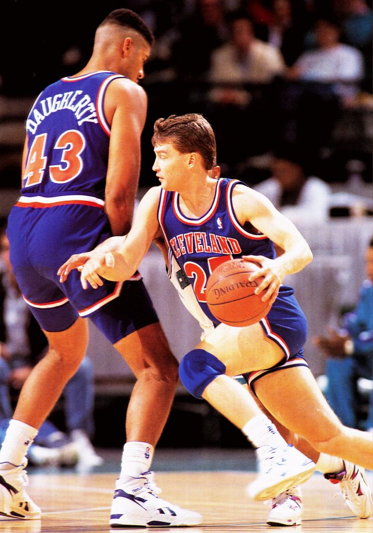 #43 Brad Daughterty #Cleveland Cavaliers & #25 Mark Price #Cleveland Cavaliers