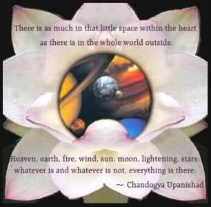The Upanishads-All Upanishads are associated with one of the four Vedas. The Upanishads are a continuation of the Vedic philosophy and were written approximately between 800 and 400 B.C.