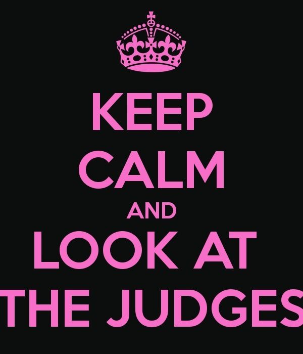YES. Pageant girl rule!