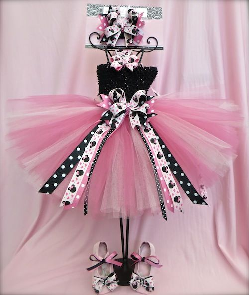Missy Mouse Custom Baby Tutu Dress