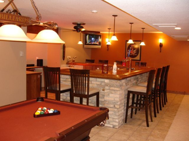 Basement Bar Design Ideas | Basement Bar Ideas - Interior Decorating - DIY Chatroom - DIY Home ...