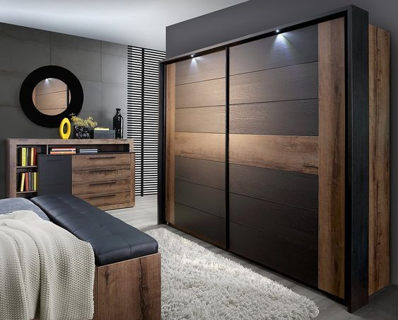 Brown Theme Bed room.check the link if you want to hire the architect.