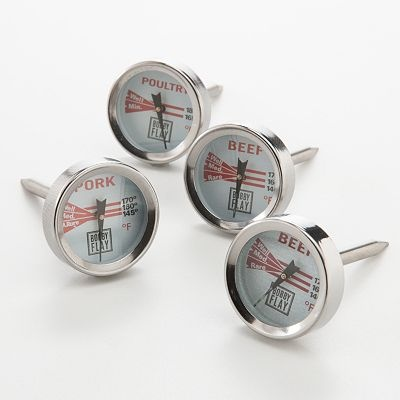 Bobby Flay 4-pc. Meat Thermometer Set: Flay Meat, Bobby Flay, Meat Thermometers, Flay 4 Pc, Kohls, Set 19 99