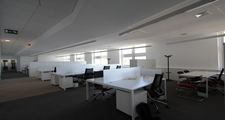 Open space into the premises of Nestle in Lisbon