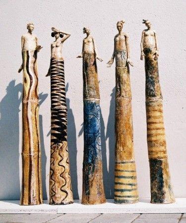 ☥ Figurative Ceramic Sculpture ☥ Keramik Doris Althaus