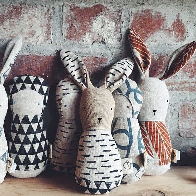 bookhou - adorable rattles are a collaboration with Camille from @ouistitine - they will be making their debut at #pucespop