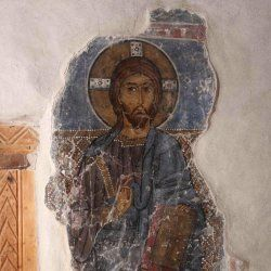 Asbestos Lurking Beneath Byzantine Wall Paintings	  Apr 2, 2014 11:30 AM ET // Joseph Castro, LiveScience    Hundreds of years before asbestos became ubiquitous in the construction industry, Byzantine monks used the fibrous material in plaster coatings underlying their wall paintings.