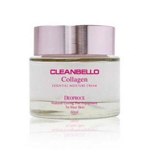 Купить Увлажняющий крем с коллагеном Deoproce Cleanbello Collagen Essential Moisture Cream из Кореи в Иркутске | Цены, отзывы