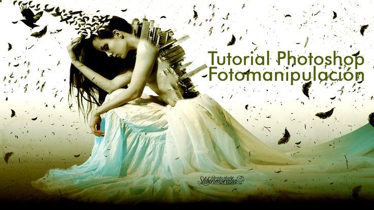 """Tutorial Photoshop: Fotomanipulación """"Soul in Desolation"""""""