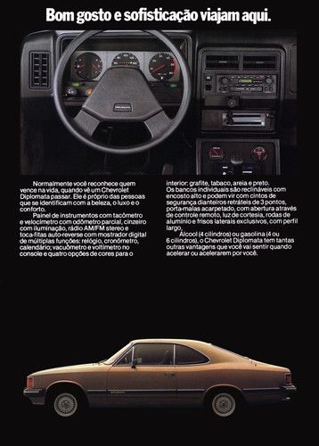 1984 Chevrolet Opala - Brasil