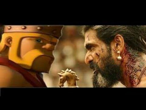 Bahubali - 2 Hindi |clash of clans mix |cartoon version|