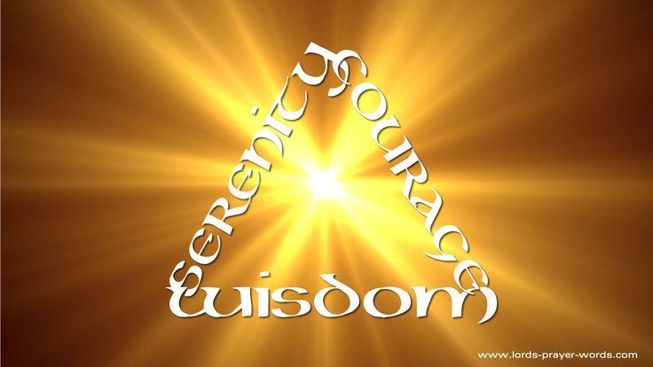Serenity Prayer - Serenity, Courage & Wisdom