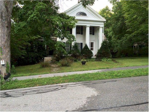 Shirley Jackson's home in North Bennington, Vermont.