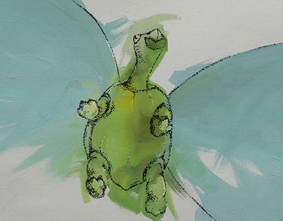 "Check out new work on my @Behance portfolio: ""Schilti bekommt Flügel"" http://be.net/gallery/51461065/Schilti-bekommt-Fluegel"