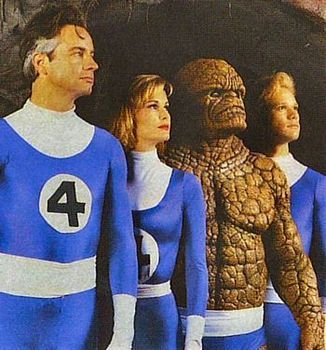"""It Came From the Bargain Bin: """"THE FANTASTIC FOUR"""" (1994) - 1994's THE FANTASTIC FOUR was an early attempt at bringing the classic Marvel Comics characters to the big screen. Produced on a miniscule budget by the great Roger Corman, the finished product was permanently shelved and has never been released officially. How does it stack up against the recent pair of mega-budget F4 films starring Jessica Alba and Chris Evans? Read on!"""