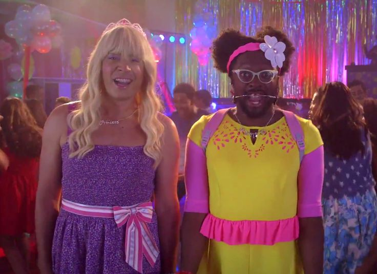 """Ew! Jimmy Fallon and Will.i.am drop an official music video for """"Ew!"""" Watch Jimmy Fallon's Sara on The Tonight Show."""