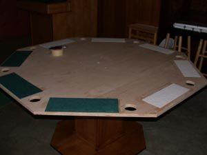 poker table, poker table plans