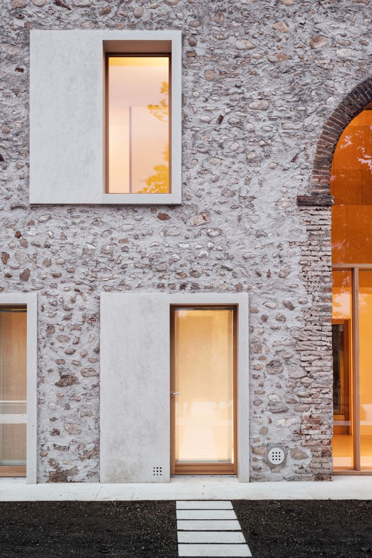 Historic and modern hold court in a Verona country…