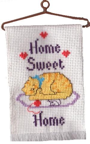 home sweet home ornament - Cross Stitch | My Needlework ...