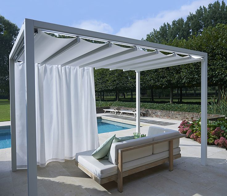 Attached Pergola With Roof
