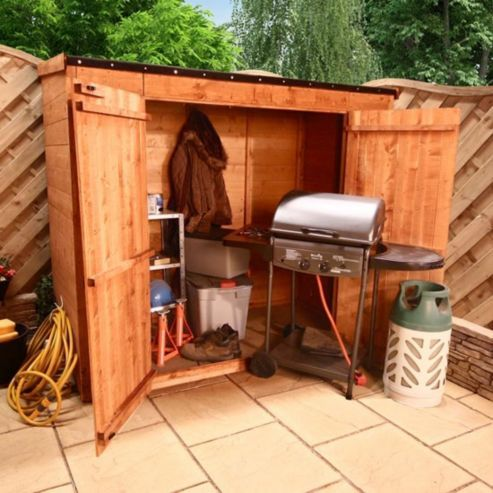 BillyOh Mega Store Tongue and Groove Pent Garden Storage