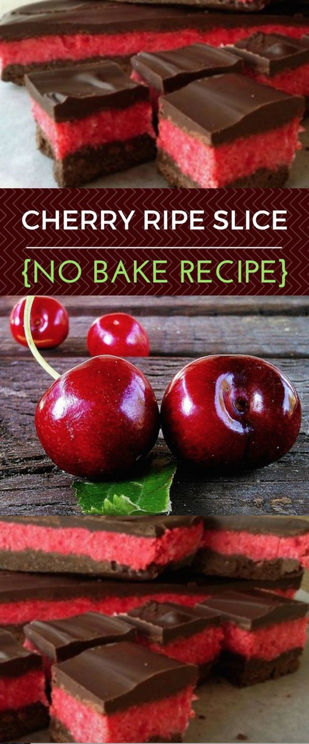 This Cherry Ripe Slice Recipe No Bake is easy to make and we've included a video tutorial to show you how. It's an old favourite that gets rave reviews.