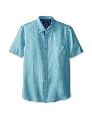 68% OFF Nat Nast Men's Capri Cloth Short Sleeve Shirt (Surf)