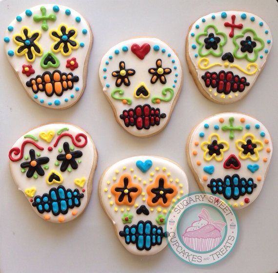 icing cookie tulips swedish rye cookie maya s day of the dead