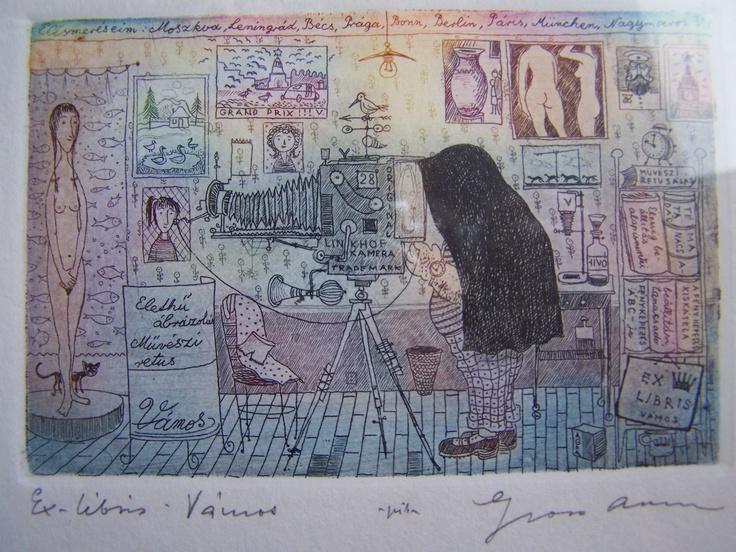 Gross Arnold: Ex-Libris Vámos