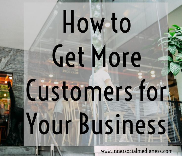 How to Get More Customers for Your Business - learn how to truly speak to your customers and how your products or services is the solution they're looking for. via @penneyfox
