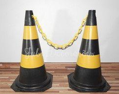 Aluguel 02 Cones de sinalização