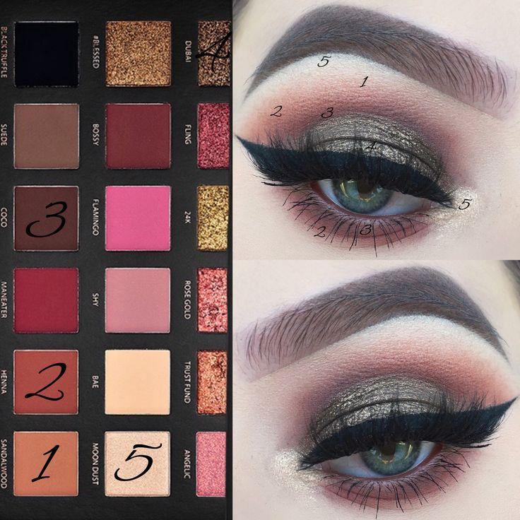 huda beauty rose gold textured eyeshadow palette