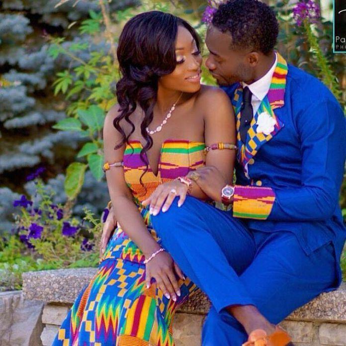 kente dress styles couplekente styles, kente fashion, kente cloth, kaba and slit, women's fashion, african fashion, african wear