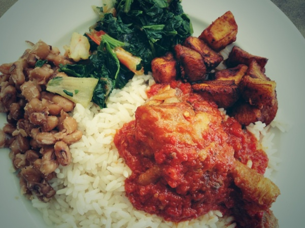 rice and chicken stew nigerian food