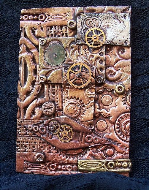Polymer Clay ACEO Steampunk | Flickr - Photo Sharing!