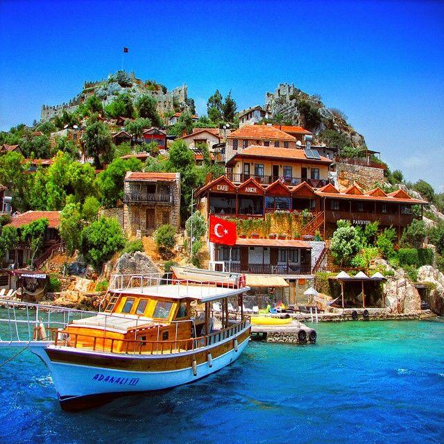 Antalya Kale Köy ...Instagram photo ,By onderkoca