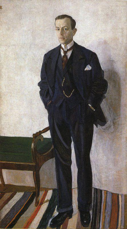 Головин. Портрет Н.П. Ефимова. 1921