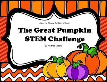 Cultivate some STEM fun with this Great Pumpkin Challenge where students become agricultural engineers.Using the given materials, students must design and build a 3-D pumpkin prototype.45-60 minutesThis challenge comes complete with:-Challenge Pages to Print or Project-Student STEM Notebook Pages-STEM Career Connections-Photo Examples-Teacher Notes, Tips and Hints-Standards Alignment to NGSS and OASS-STEM Word Wall WordsThank you for downloading my STEM Challenge and for taking time to…