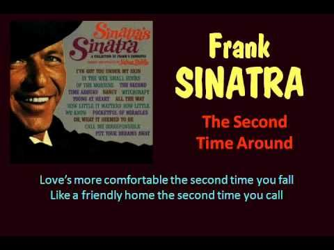 The Second Time Around (Frank Sinatra - with Lyrics) A very SPECIAL Love Song of mine  ღpwro